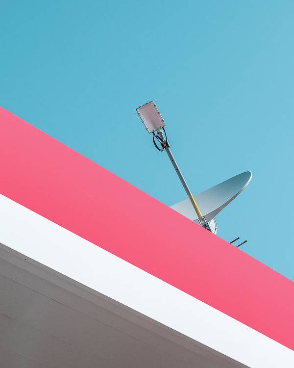 satellite dish on roof 10 Bedroom Wall Art Pieces That Will Brighten Your Mornings