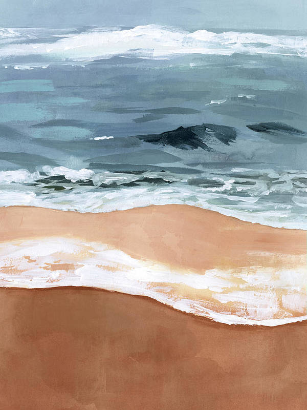 shore layers art print 10 Bedroom Wall Art Pieces That Will Brighten Your Mornings