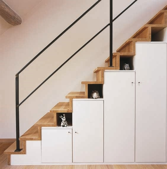 under the stair storage 8 Small Home Design Ideas That Will Make Your Space Look Bigger