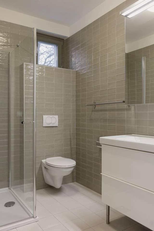 bathroom Semi Detached House by Adam Balog