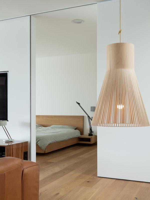 bedroom Haus am See by Carlos Zwick