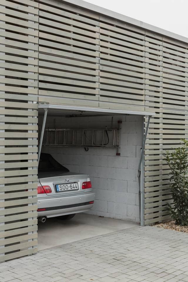 garage Semi Detached House by Adam Balog