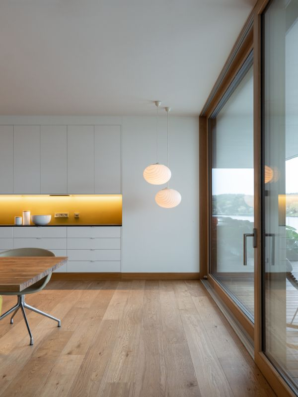 kitchen details Haus am See by Carlos Zwick