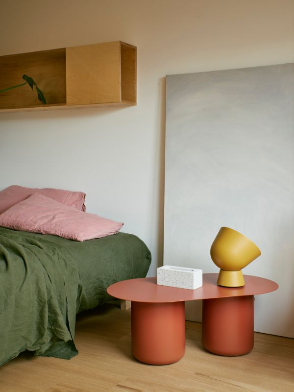 bedroom details A Backyard Studio by Drawing Room Architecture