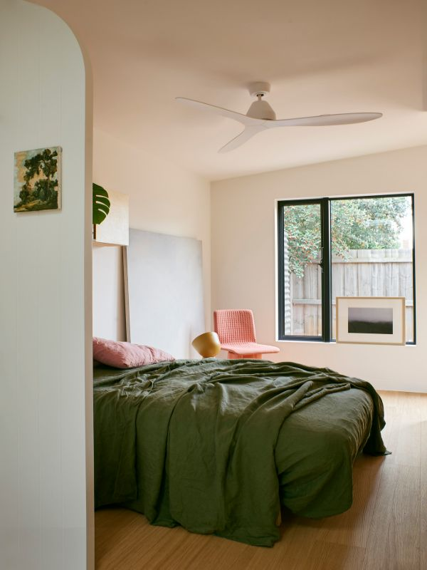 bedroom A Backyard Studio by Drawing Room Architecture