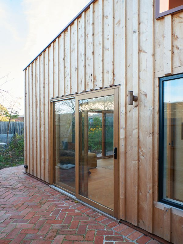 eastern facade A Backyard Studio by Drawing Room Architecture
