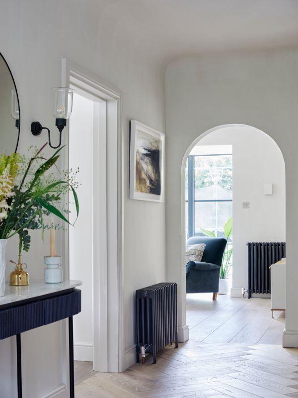 hallway looking to living room Renovation of a Stunning 1930s Detached Home by Yoko Kloeden Design