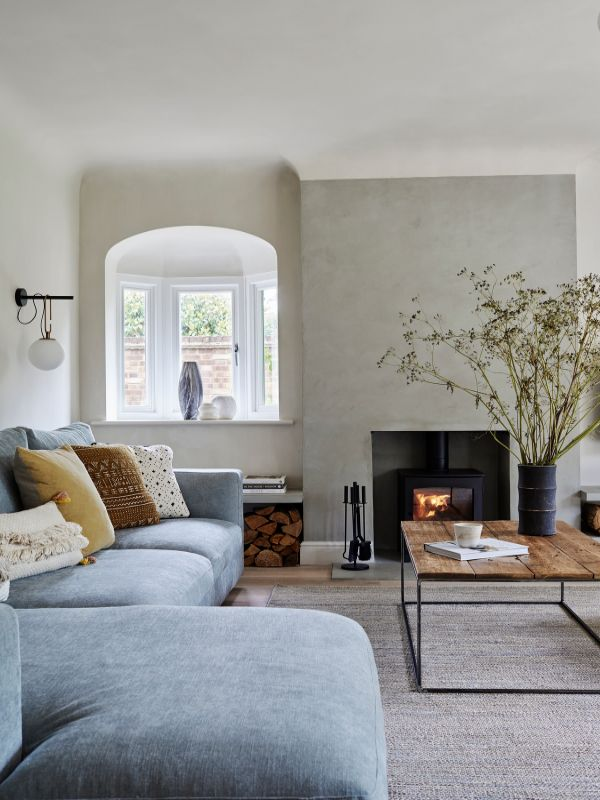 living room Renovation of a Stunning 1930s Detached Home by Yoko Kloeden Design