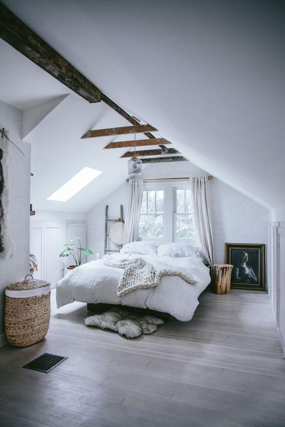 rustic attic bedroom 5 Attic Bedroom Ideas To Create A Luxury Sleeping Space