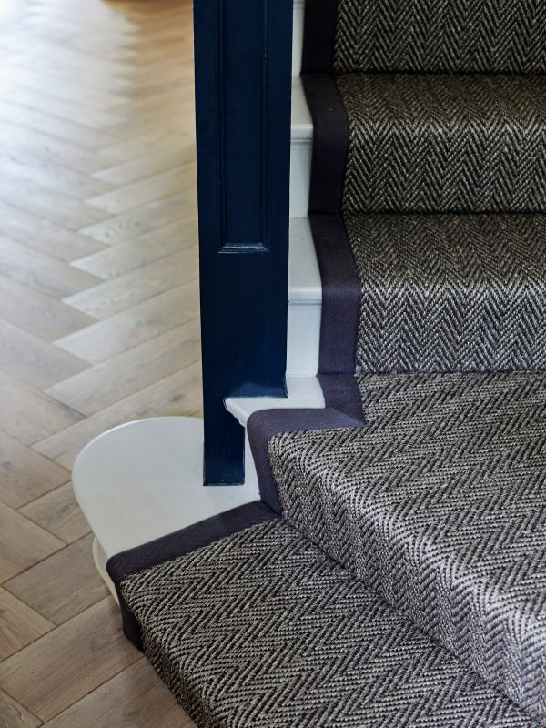 stair detail Renovation of a Stunning 1930s Detached Home by Yoko Kloeden Design