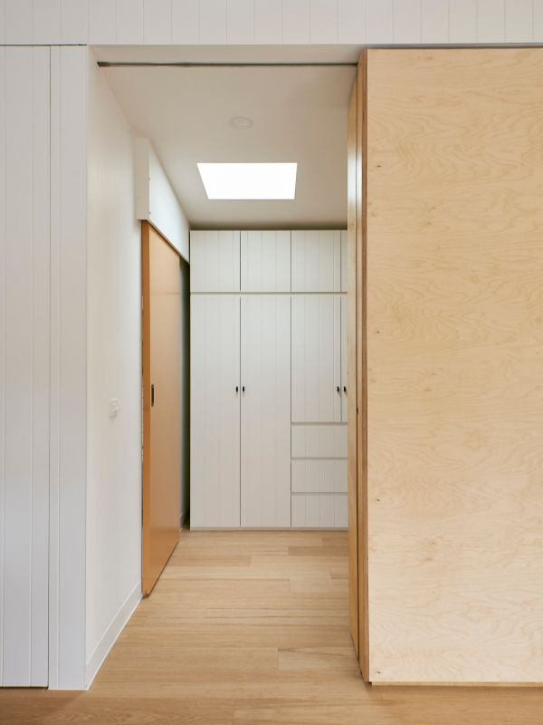wardrobe A Backyard Studio by Drawing Room Architecture