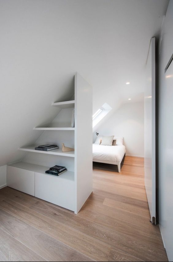 white bedroom in the attic 5 Attic Bedroom Ideas To Create A Luxury Sleeping Space