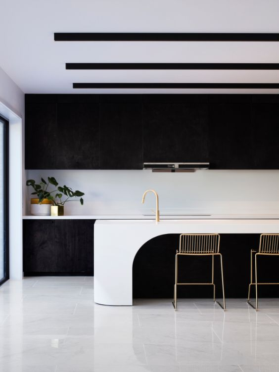 kitchen The Cuboid House by LLDS Architects