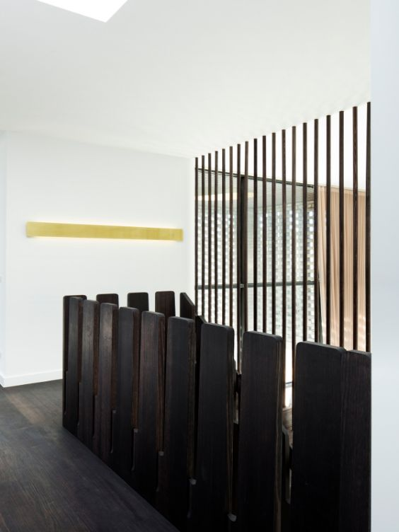 stairs as threshold The Cuboid House by LLDS Architects
