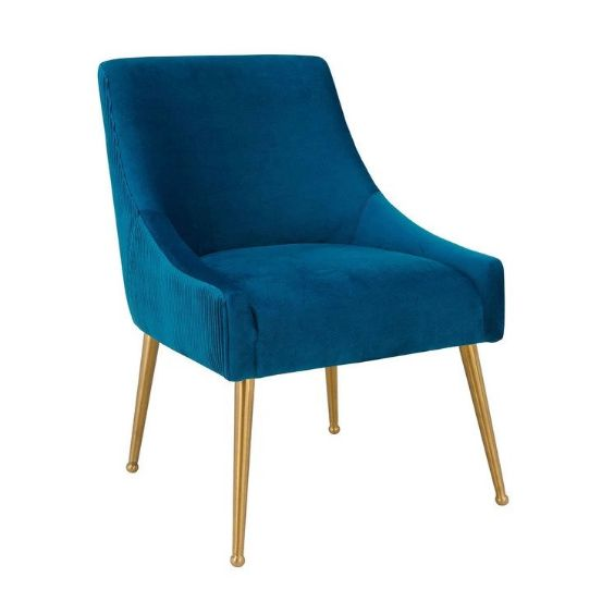 aries pleated velvet dining chair The Best Seats In The House Choosing The Perfect Chairs For Every Room