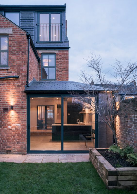backyard A Material Driven Overhaul to a Victorian End Of Terrace by NOTO