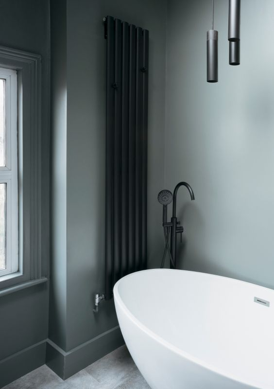 bathroom A Material Driven Overhaul to a Victorian End Of Terrace by NOTO
