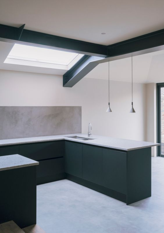 kitchen 1 A Material Driven Overhaul to a Victorian End Of Terrace by NOTO