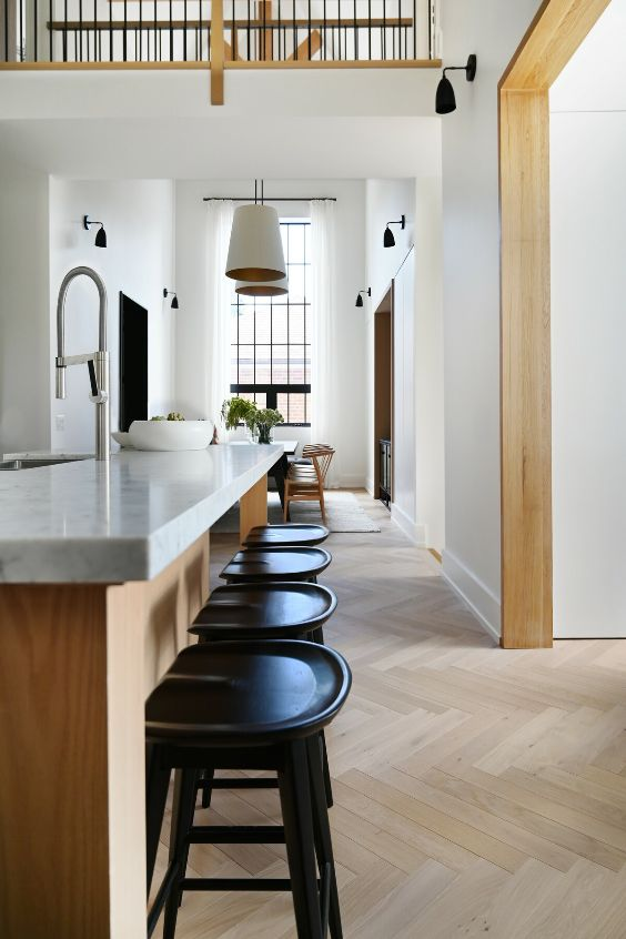kitchen bar A Tired Bungalow Transformed Into a 2 Storey Family Dwelling by Ancerl Studio