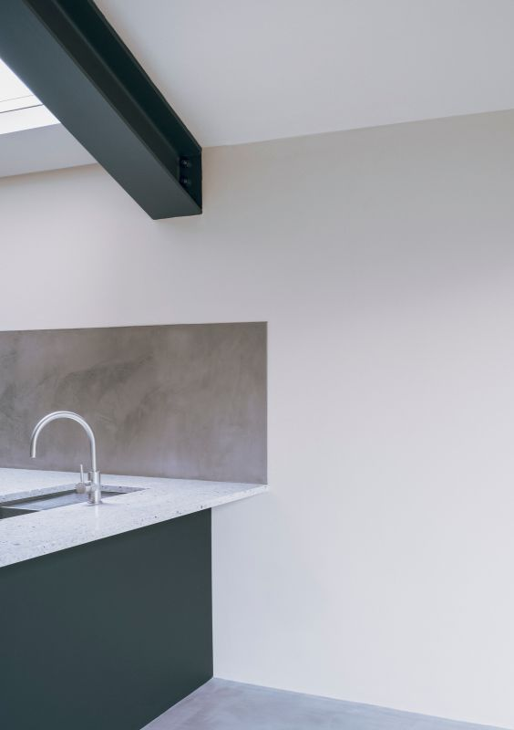 kitchen detail A Material Driven Overhaul to a Victorian End Of Terrace by NOTO