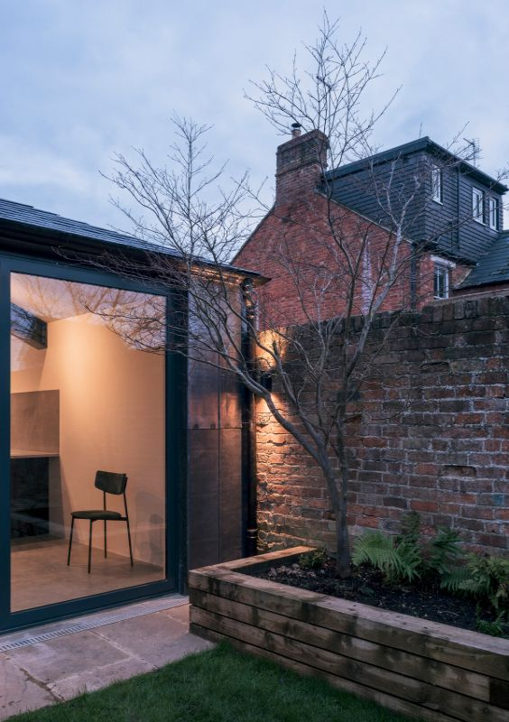 steel and glass extension A Material Driven Overhaul to a Victorian End Of Terrace by NOTO